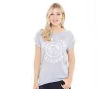 Clara T-Shirt Hellgrau
