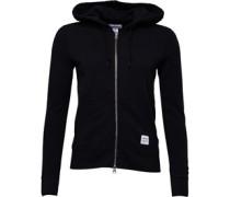 Womens Essentials Zip Hoody Black