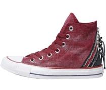 CT All Star Hi Triple Zip Sneakers meliert