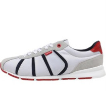 Mens Almayer II Trainers Grey/Red/Blue