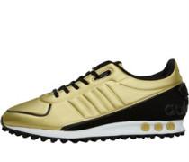 LA Trainer II Sneakers Gold