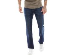 Jorge Jeans mit geradem Bein Dunkel