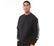 Star Chevron Gesteppt Sweatshirt