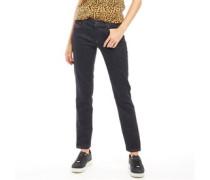 Sandy Jeans mit Bündchen Dunkelindigo