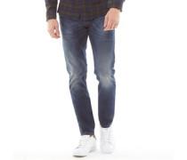 Tepphar Pantaloni 0853R Jeans in Slim Passform Dunkel
