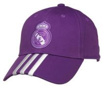 RMCF Real Madrid 3 Stripe Mütze Lila