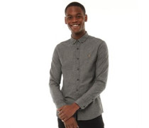 Steen Slim Hemd mit langem Arm Dunkel