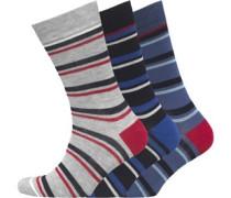 Billet Drei Pack Socken
