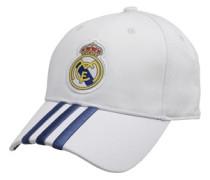 RMCF Real Madrid Home 3 Stripe Mütze Weiß