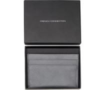 Saffiano Kreditkarten Etui Brieftasche Hell