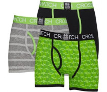 Causeway Glo 3 Packung Boxershorts in lose Passform