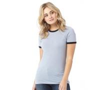 Retro T-Shirt Blau