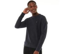 Goohan Textured Sweatshirt Navymeliert