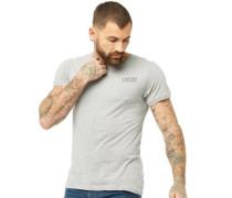 Mens Trek T-Shirt Grey Marl