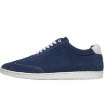 Suede Sneakers Blau