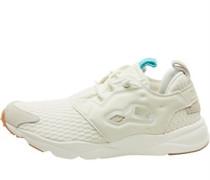 Furylite Loom Sneakers Ecru