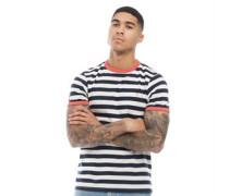 Belgrove Streifen T-Shirt Ecru
