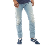 Arc 3D Jeans in Slim Passform Hell Denim