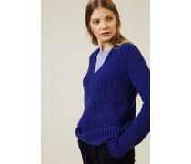 Cashmere Pullover 'Sardinia' Royalblau - Cashmere