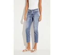 Jeans 'Piper' mit Auswaschungen Blau