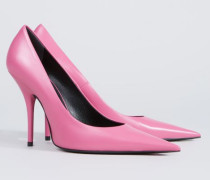 Knife Pumps Pink - Leder