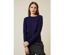 Cashmere-Seiden-Pullover Indigo - Cashmere