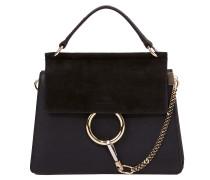 Handtasche 'Faye small' Schwarz