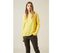 Cashmere-Pullover 'Cayo' Gelb - Cashmere