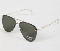 Sonnenbrille 'The Prince' Gold/Khaki