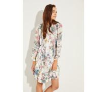 Zweiteiliges Kleid mit floralem Print Multi