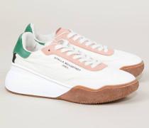 Sneaker 'Fabric' Crème/Multi