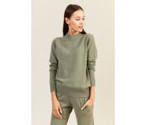 Cashmere-Pullover Salbei
