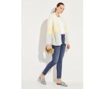High-Rise-Jeans 'Olivia' Blau
