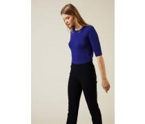 Cashmere Pullover 'Lynn' Royalblau - Cashmere