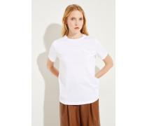 T-Shirt 'Elison' Weiß