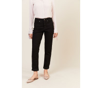 7/8-Jeans 'Pearlie' Schwarz