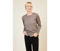 Cashmere-Pullover 'Riverstone' Taupe