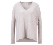 Cashmere-Pullover mit V-Neck