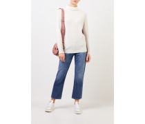 Cashmere-Pullover mit Turtleneck Multi