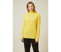 Cashmere Pullover 'Sardinia' Gelb - Cashmere