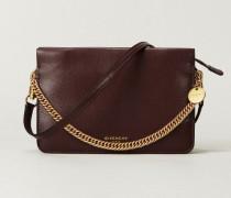 Handtasche 'Cross 3' Violett - Leder