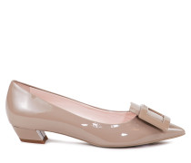 Ballerinas 'Gommettine Ball 25' aus Lackleder Beige