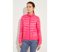 Leichte Daunen-Jacke Pink