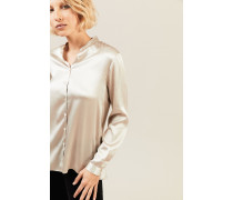Seidenbluse 'Connies' Champagner
