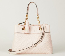Handtasche 'Fleming Small' Rosé - Leder