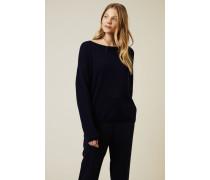 Cashmere-Pullover 'Cayo' Marineblau - Cashmere