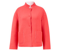Double Face Woll-Blazer Pink/Creme