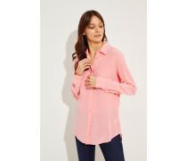 Seidenbluse 'Essential' Pink