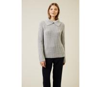Cashmere Pullover 'Saria' Grau - Cashmere