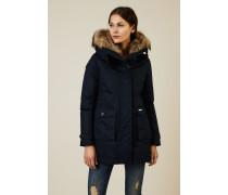 Daunenparka 'W'S Scarlett Eskimo' Marineblau - 100% Baumwolle